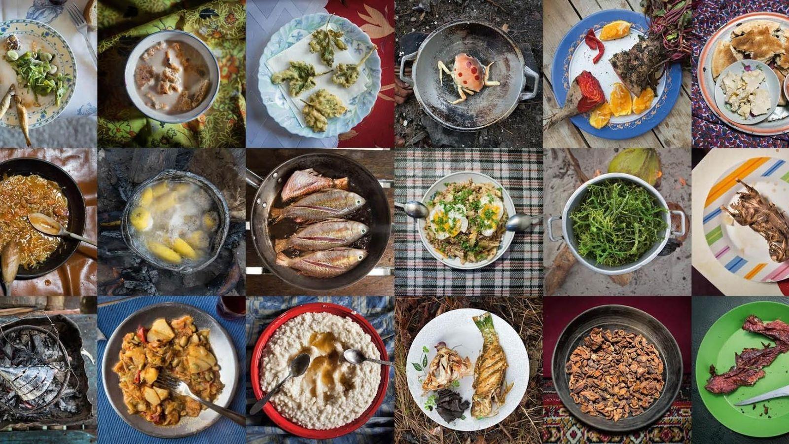 pratos de comida pelo mundo