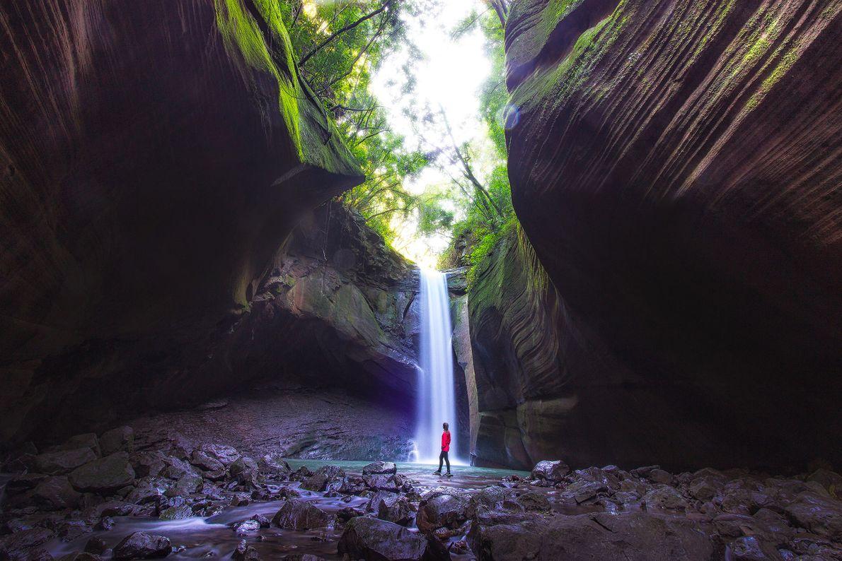 Cascata das Andorinhas em Rolante, Rio Grande do Sul.