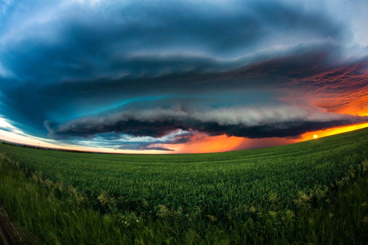 Tempestade no Candá