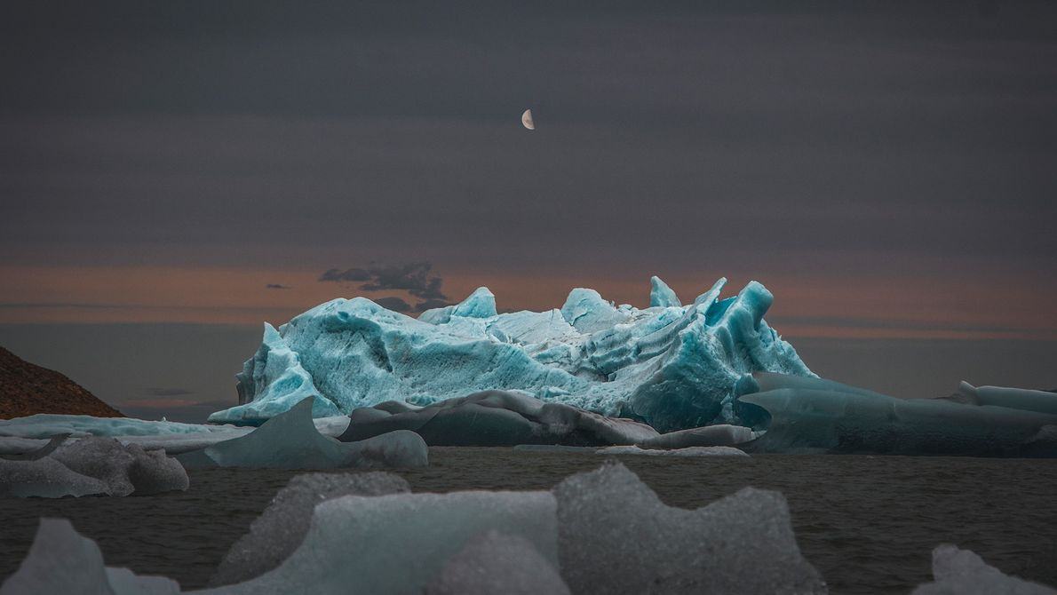 Lua e gelo
