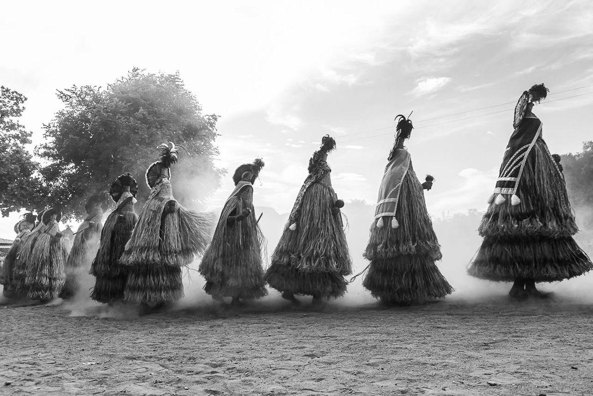 ritual toré indigenas pankararu