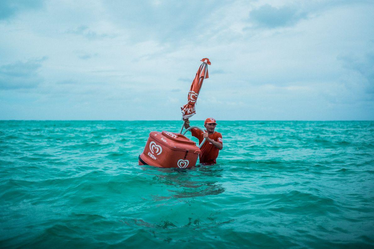 #SuaFoto Sorvete marinho
