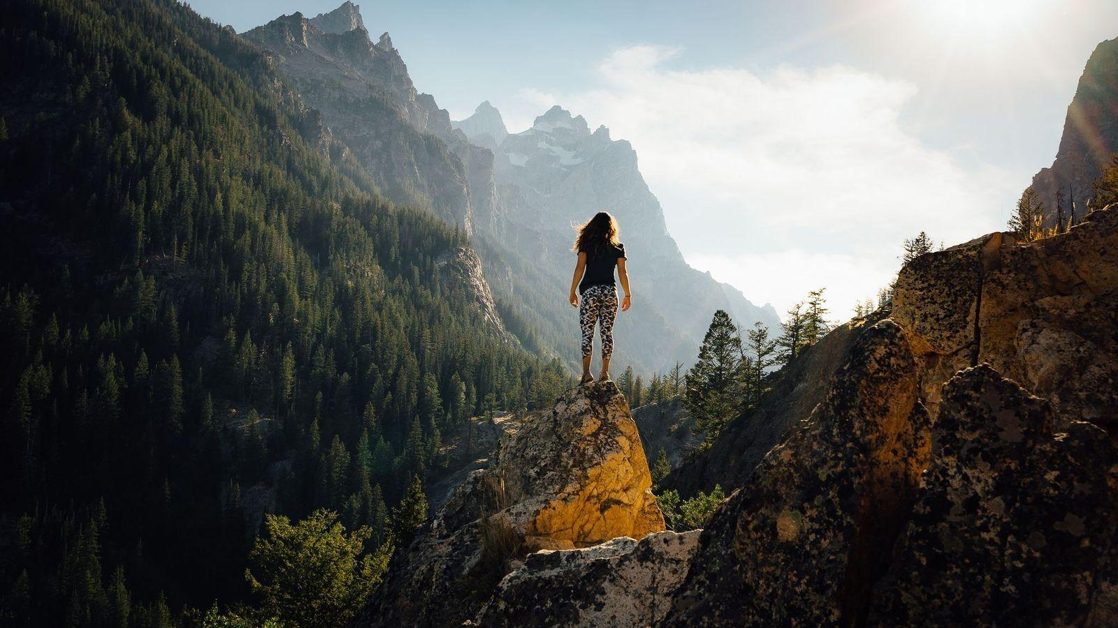 Monte Grand Teton.