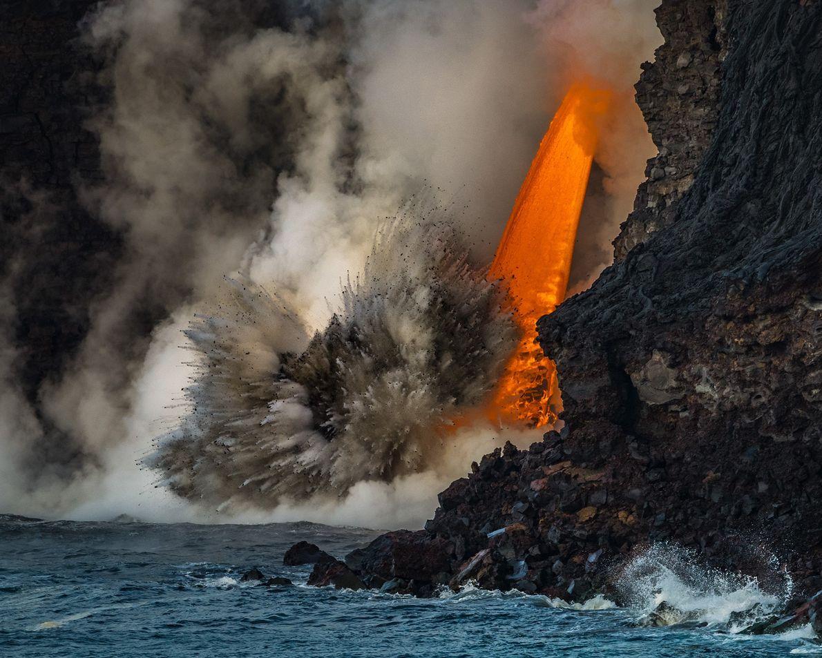Explosão natural