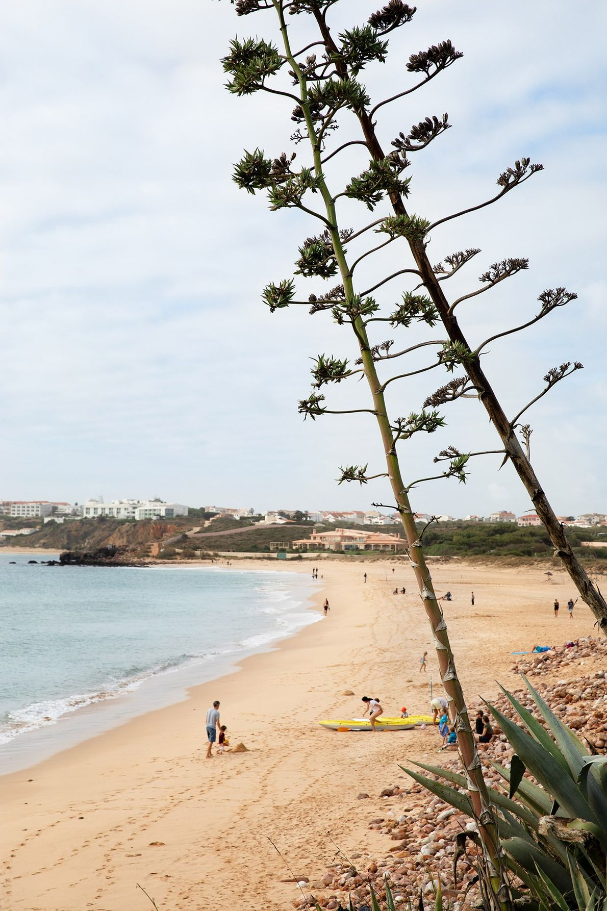 Todas as praias de Portugal estão abertas ao público. A praia do Martinhal, junto ao resort ...
