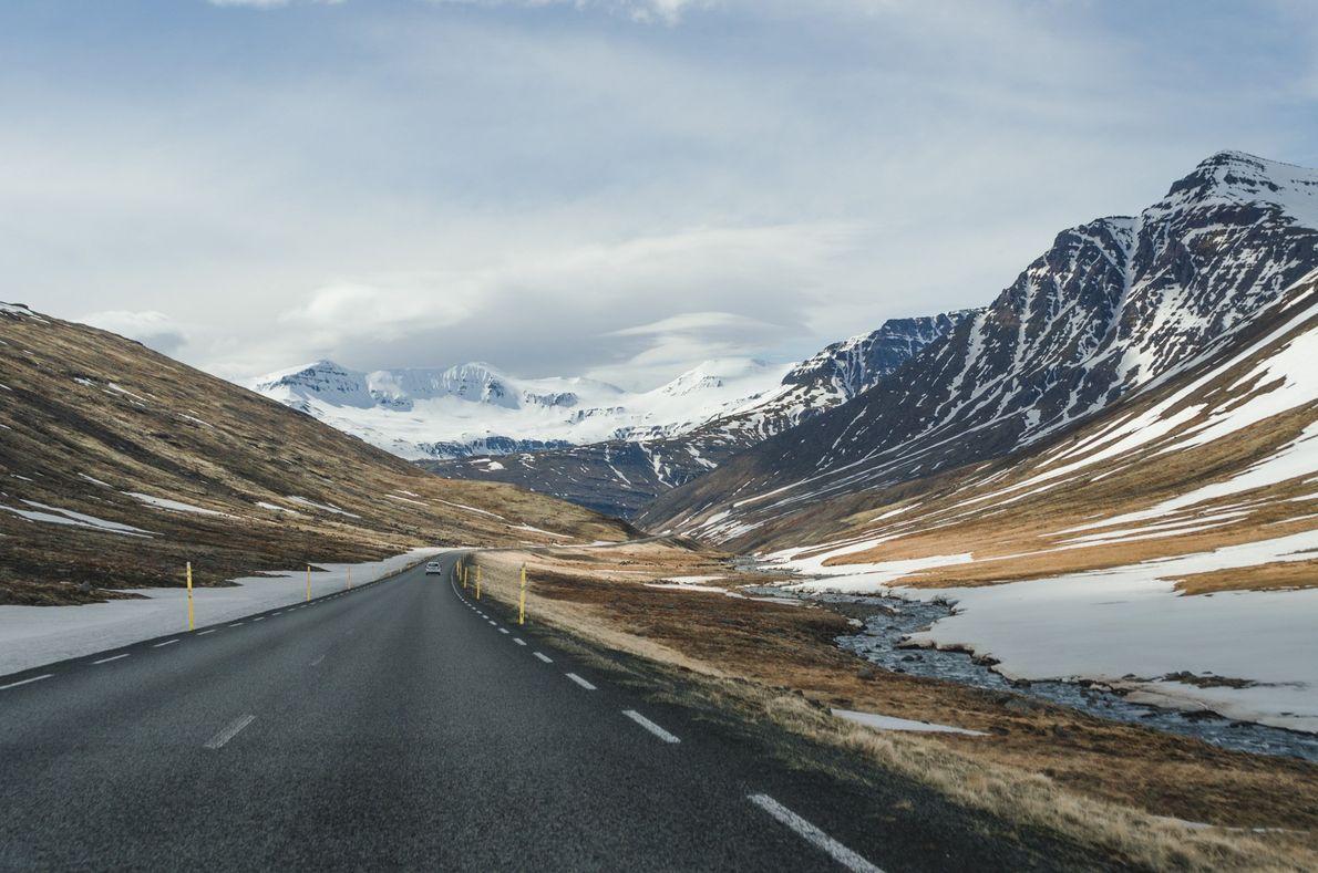 sua foto estrada islandia