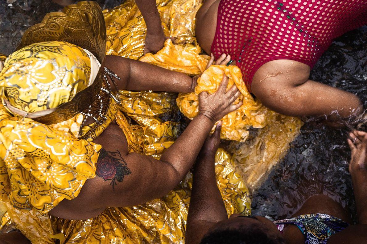 Batismo em Salvador, Bahia.