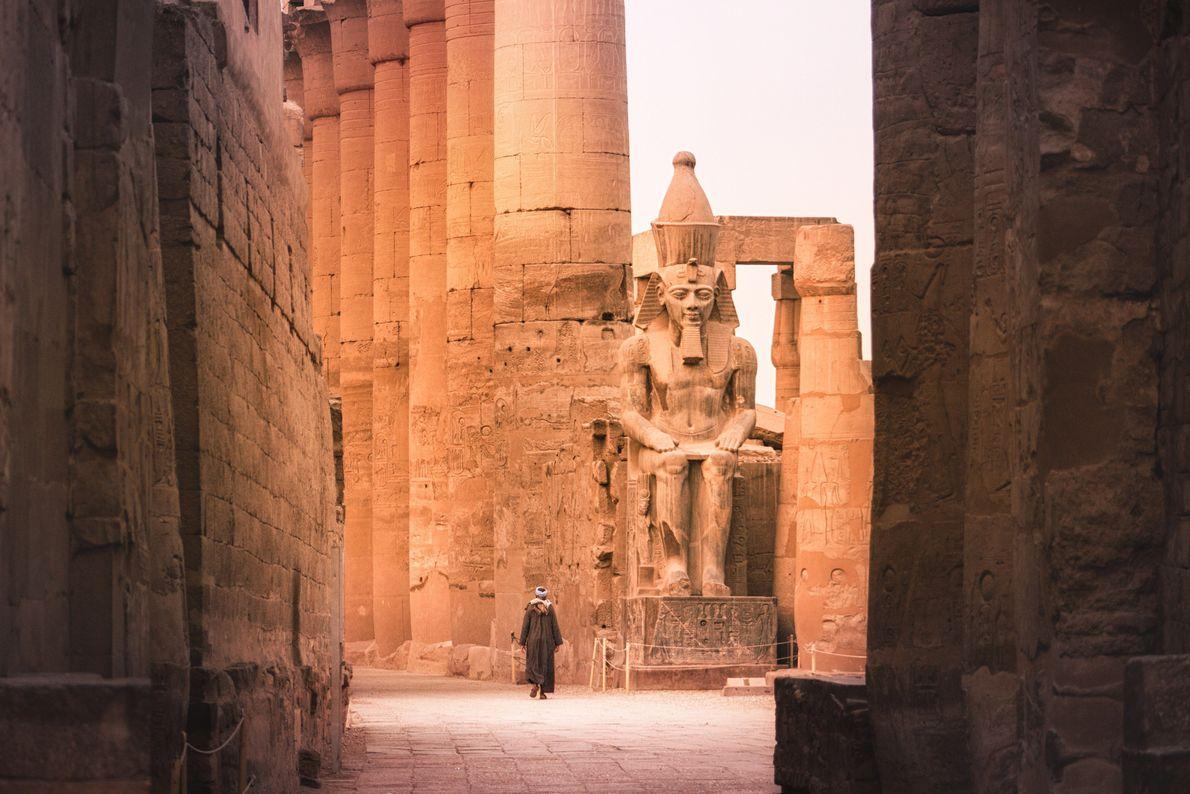 faraó ramses II luxor