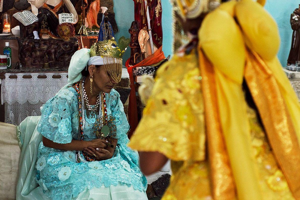 Festa de Oxum em terreiro de Candomblé