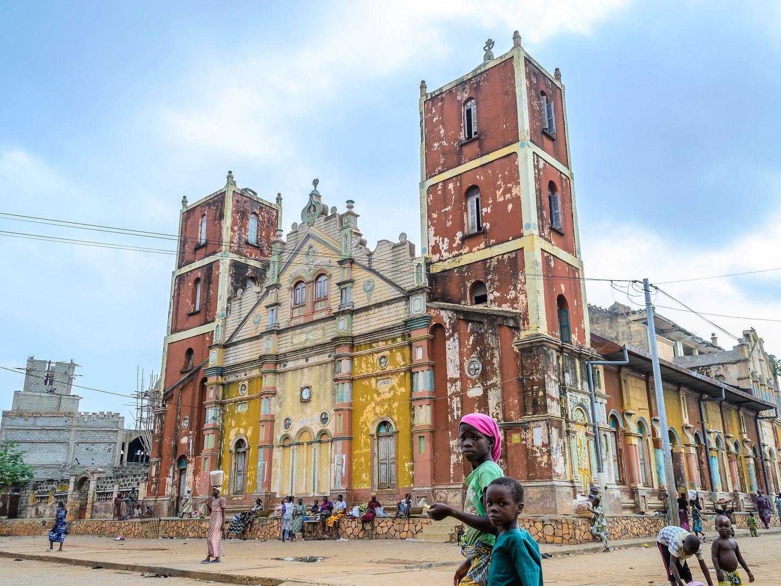 Grande Mesquita de Porto Novo, em Benin