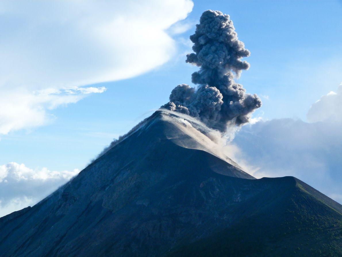 vulcao guatemala