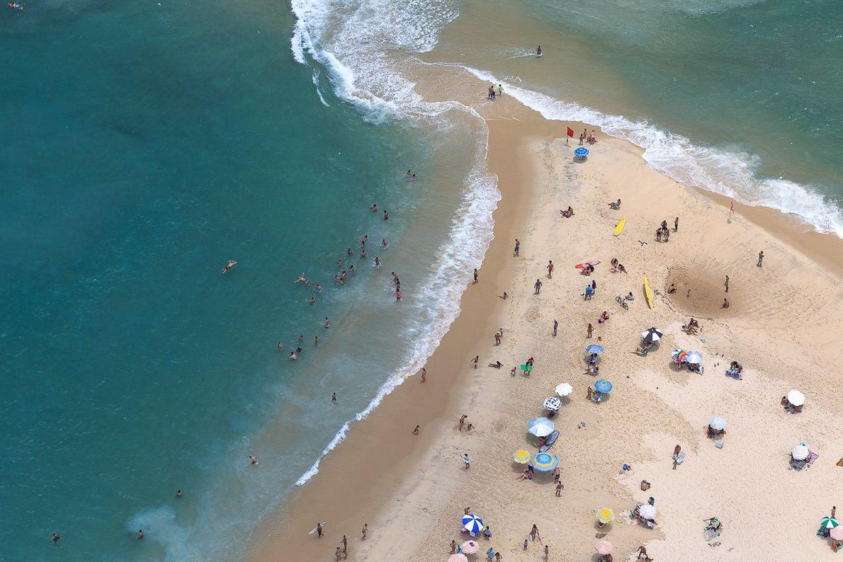 Praia do Pontal, no Rio de Janeiro.