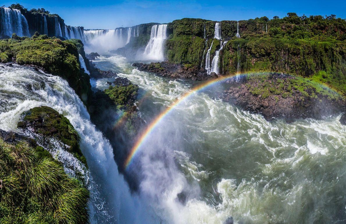 arco-íris cataratas do iguacu