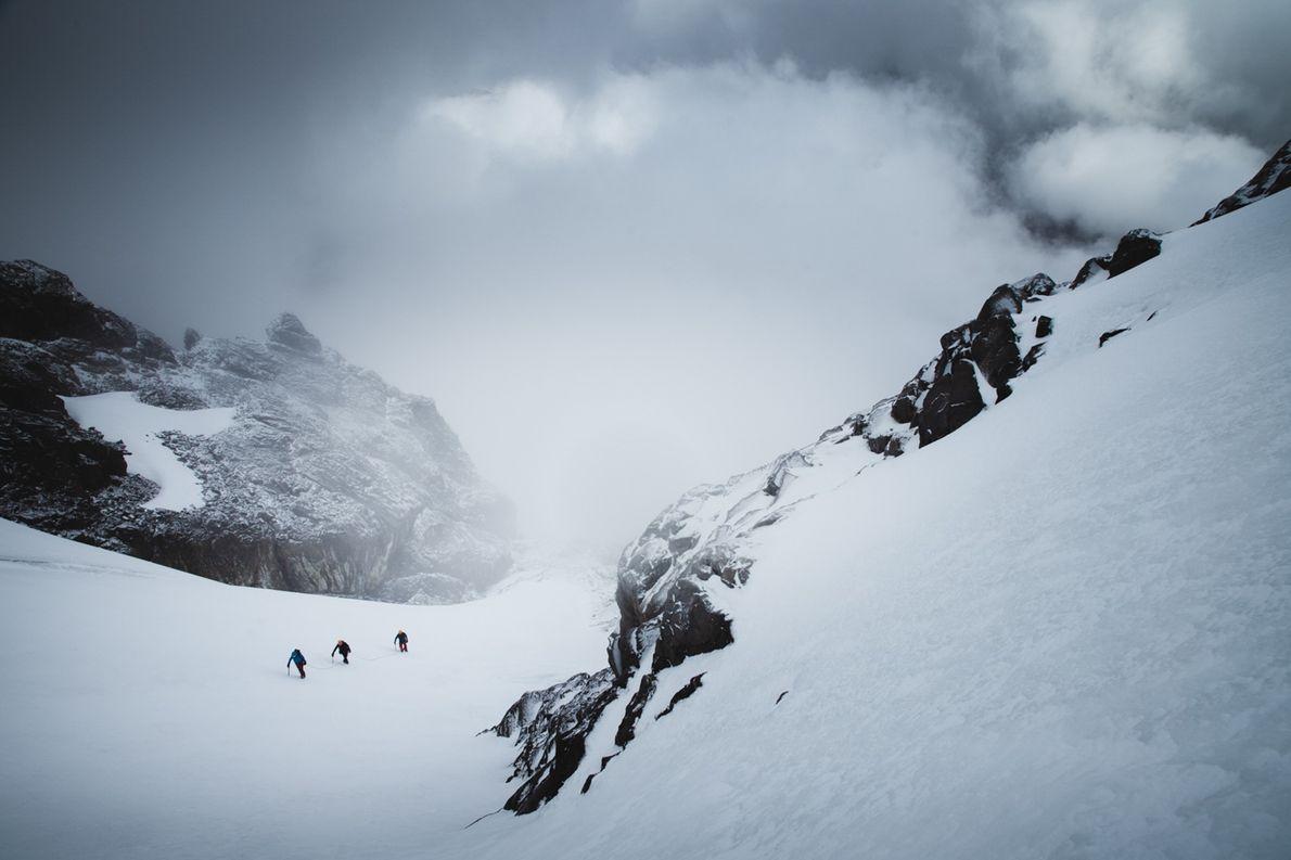 caminho no gelo