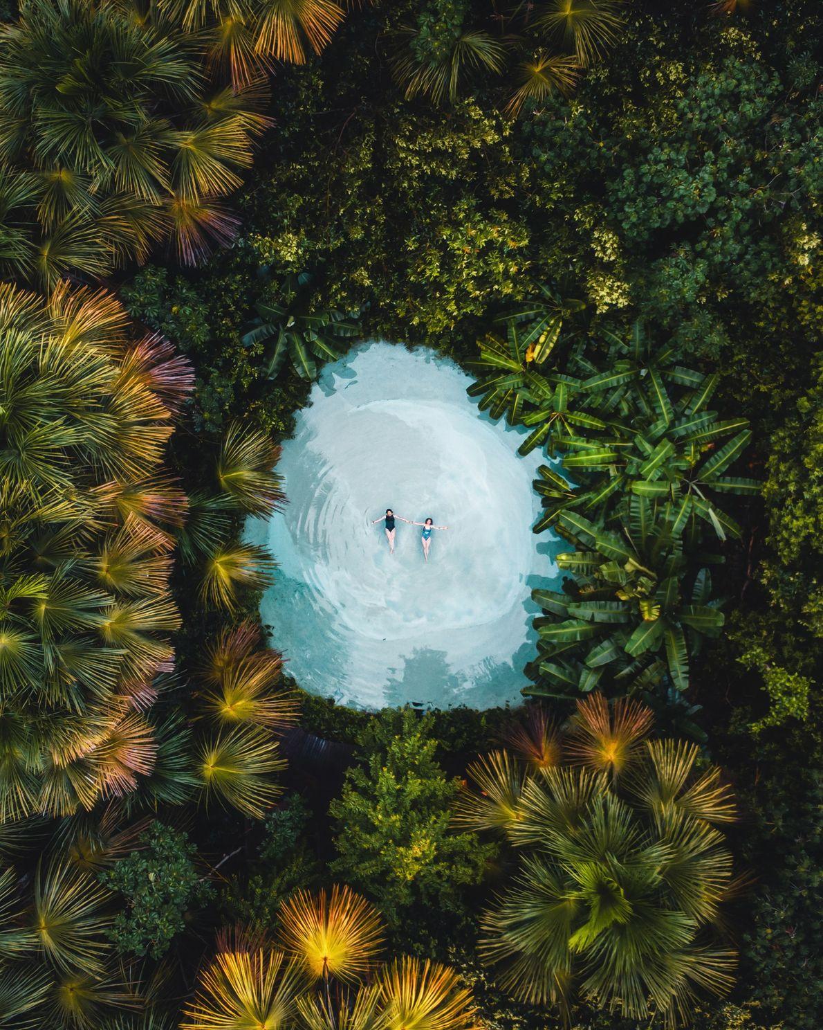 Fervedouro Bela Vista, no Parque Estadual do Jalapão, no Tocantins.