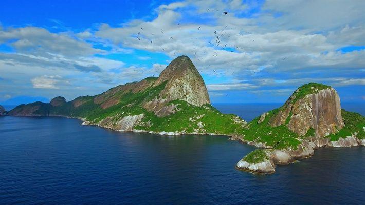 Brazil Azul, no National Geographic
