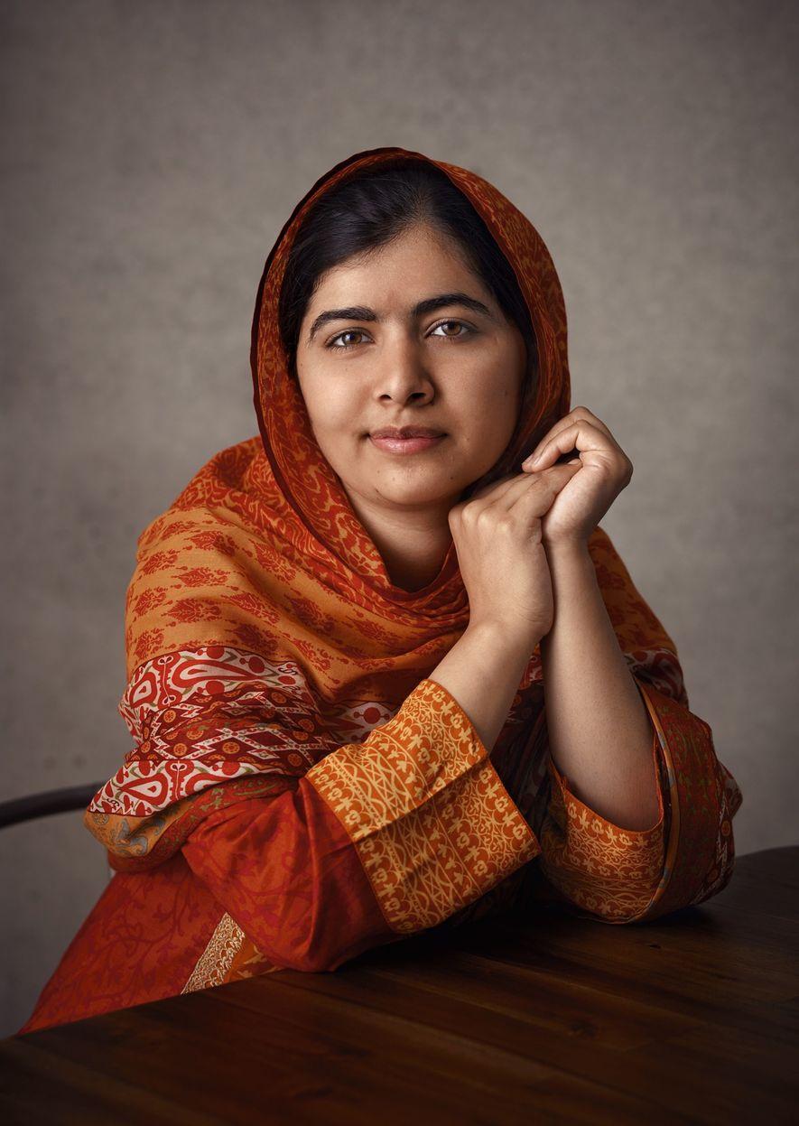 Malala é a pessoa mais jovem a receber um prêmio Nobel.