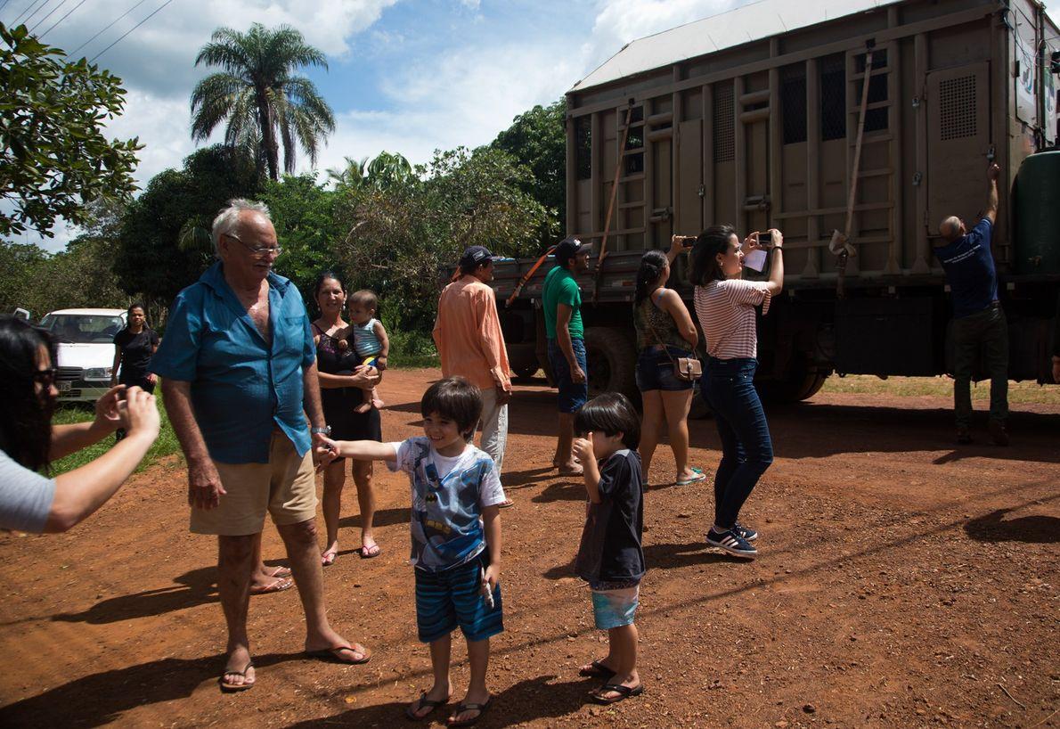 Rana chegada a Mato Grosso