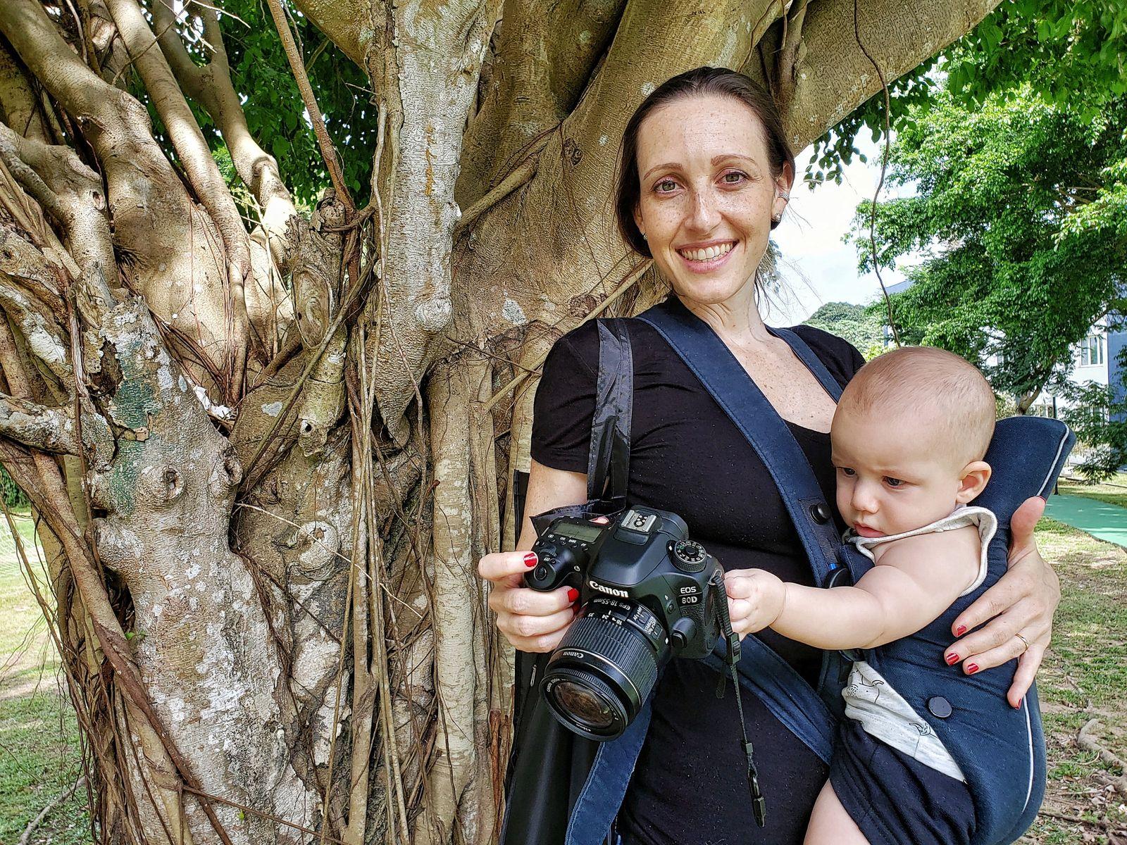 Mamãe cientista: a exploradora Silvia Pavan levou o pequeno Davi, de 5 meses, para o Bootcamp ...