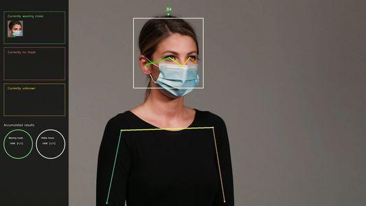 Reconhecimento facial com máscara já é uma realidade – gostemos ou não
