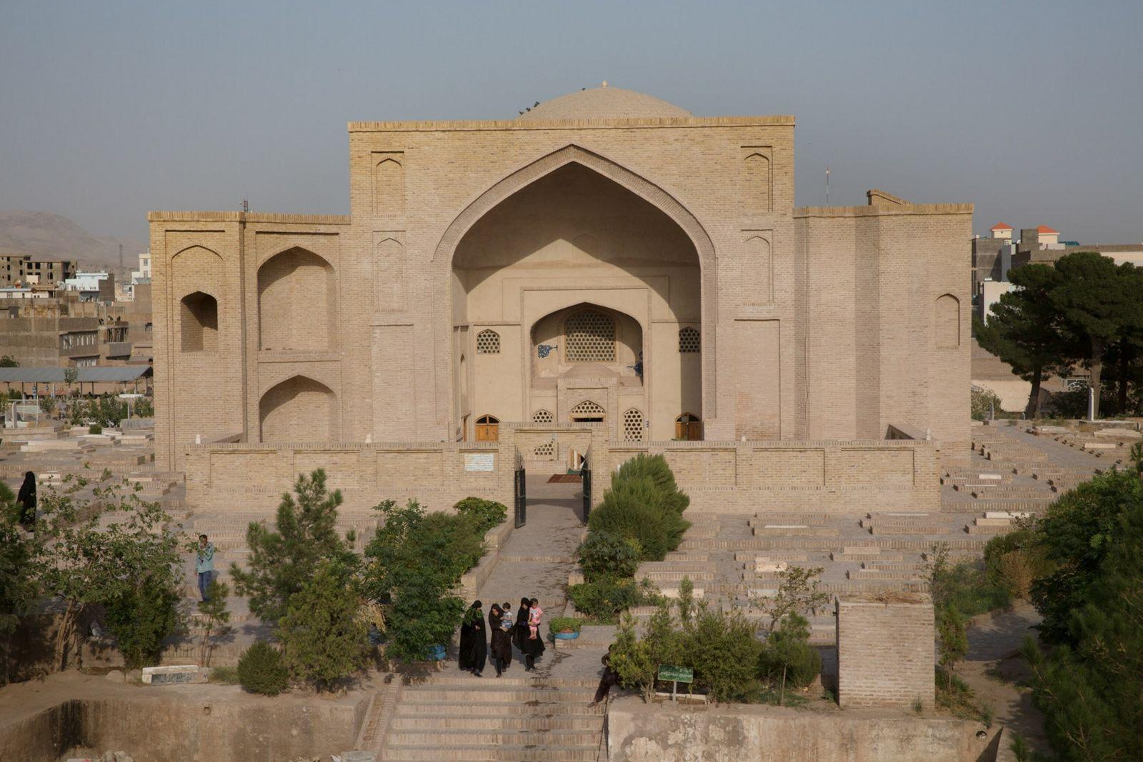 The Restored Shahzada Abdullah Mausoleum In Herat, Afghanistan