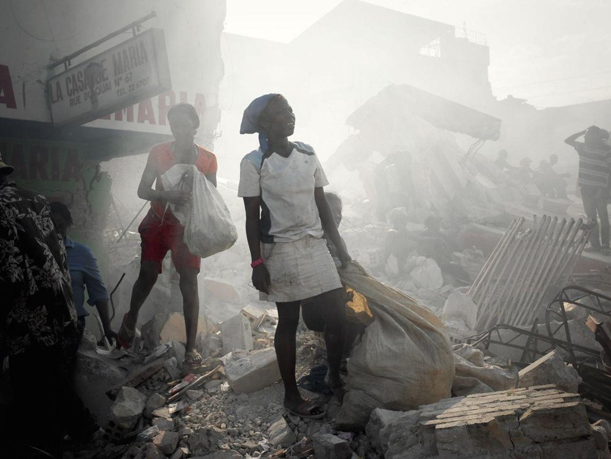 Caminhada por Porto Príncipe