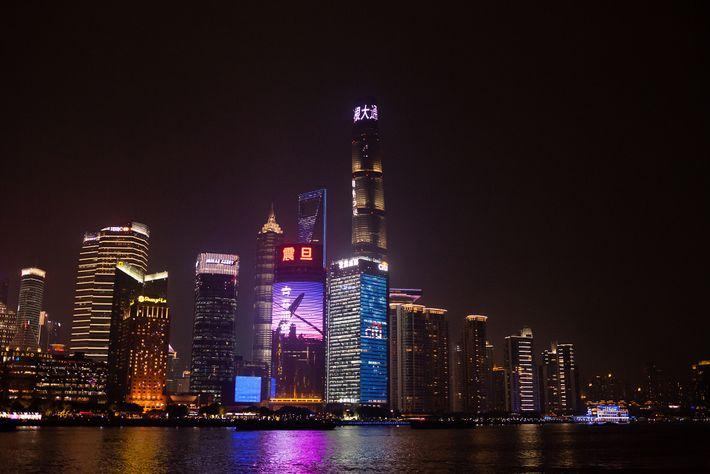 Metrópole vibrante: em Pudong, centro financeiro de Xangai, está localizada a Shanghai Tower, segundo prédio mais ...
