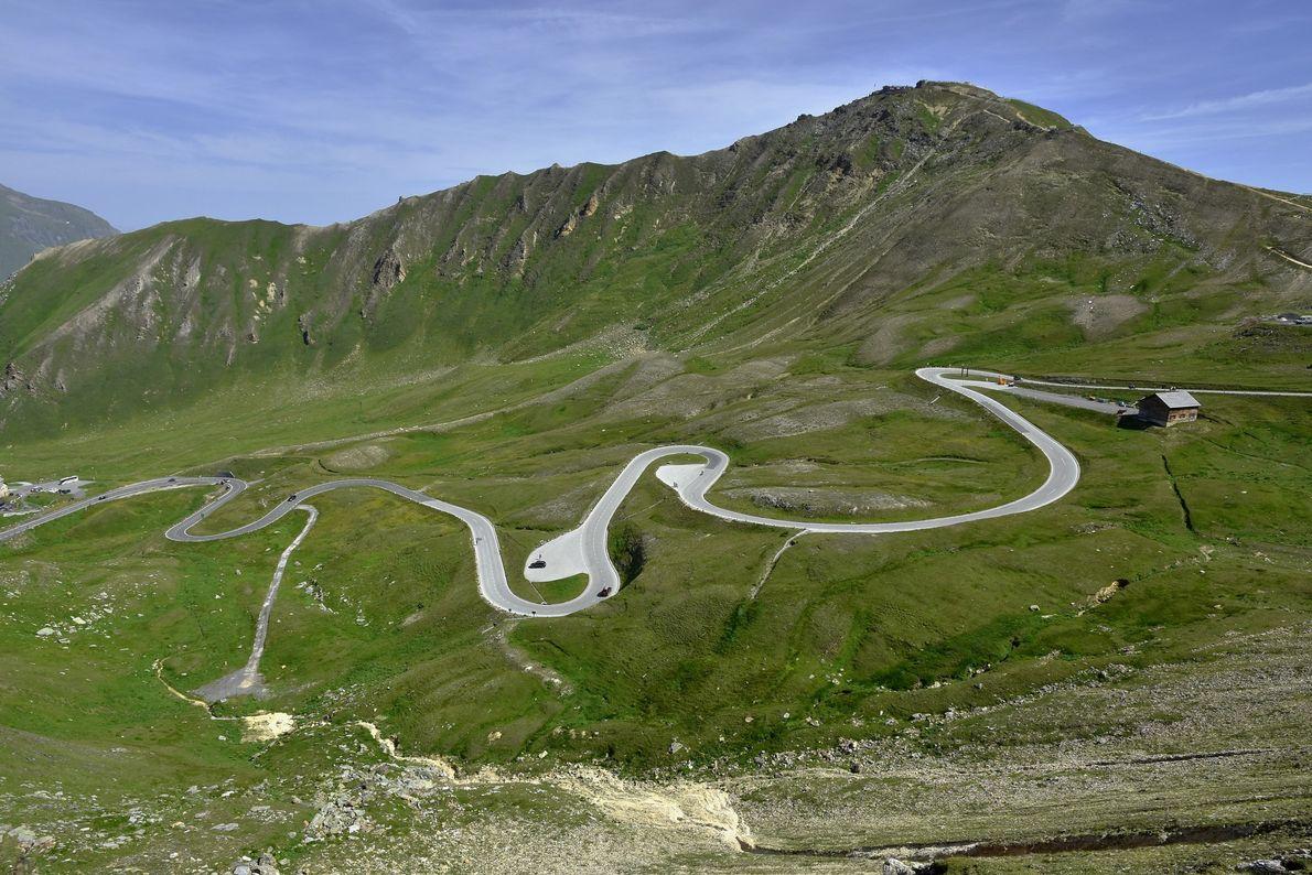 Estrada Grossglockner High Alpine, Áustria A estrada Grossglockner High Alpine segue de norte a sul pela Áustria ...