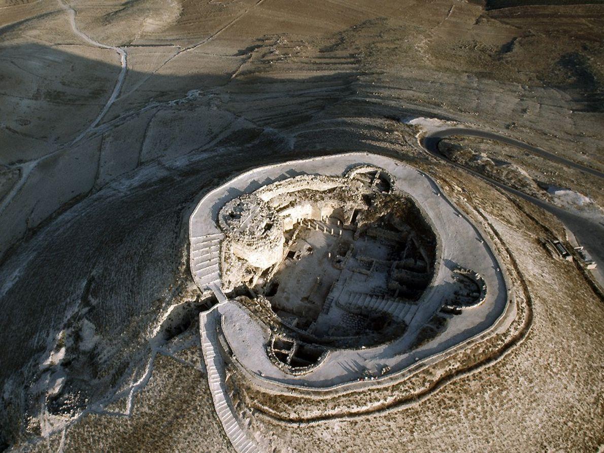 Aerial of Herodium