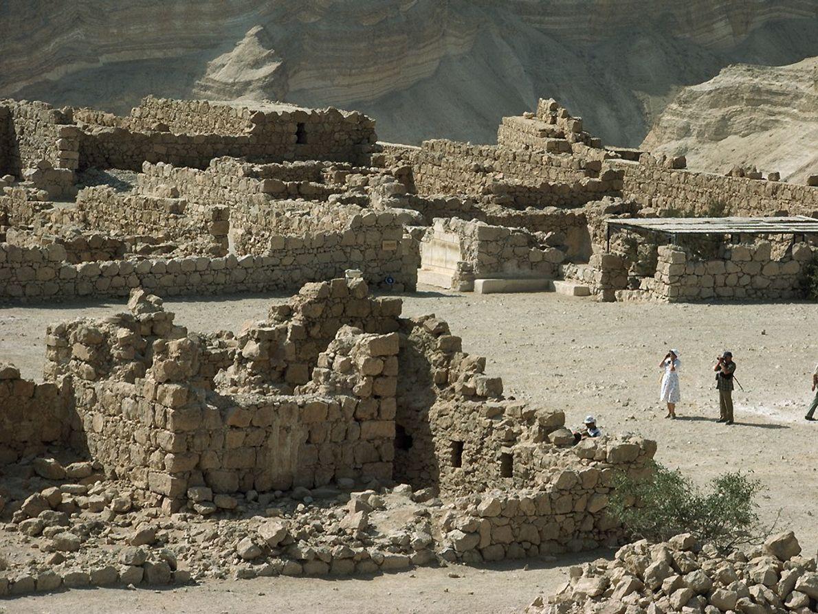 ruínas de masada