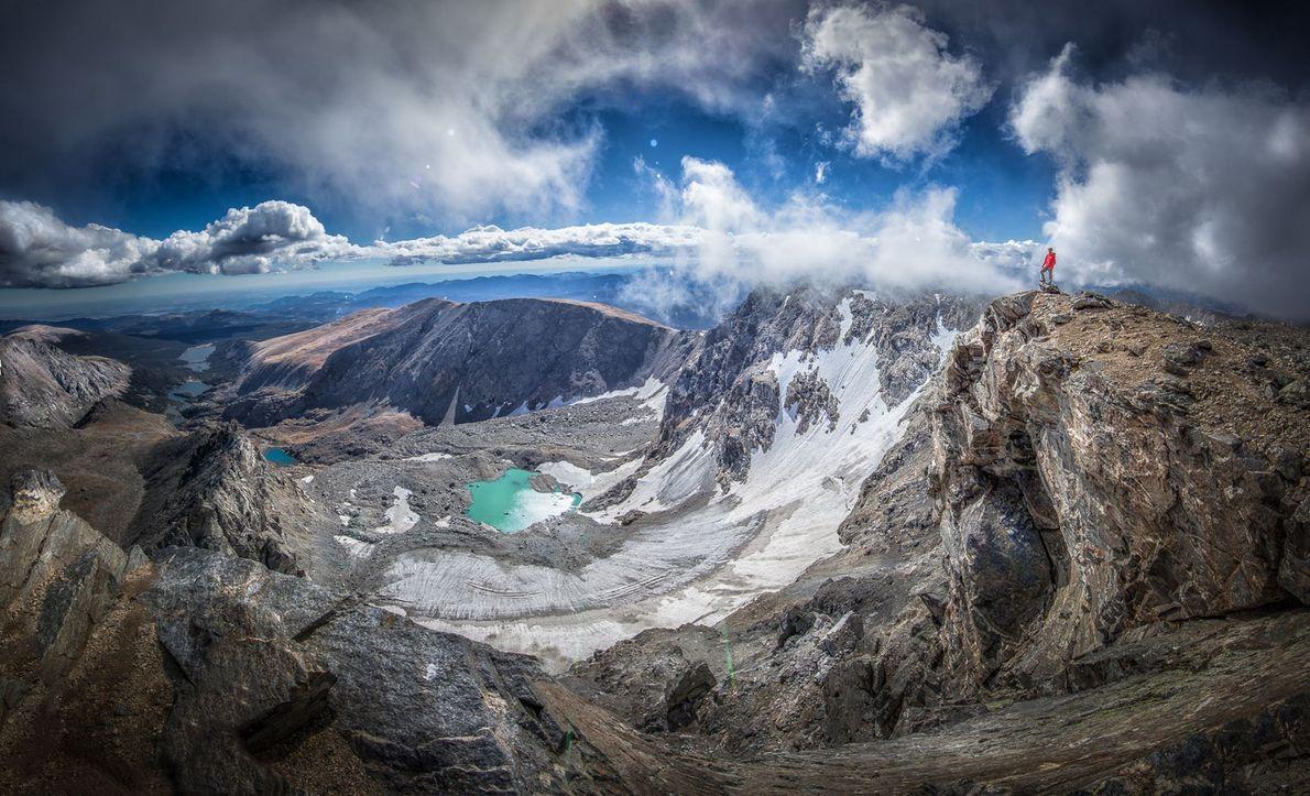South Suicide Peak, no Parque Estadual Chugach, no Alasca