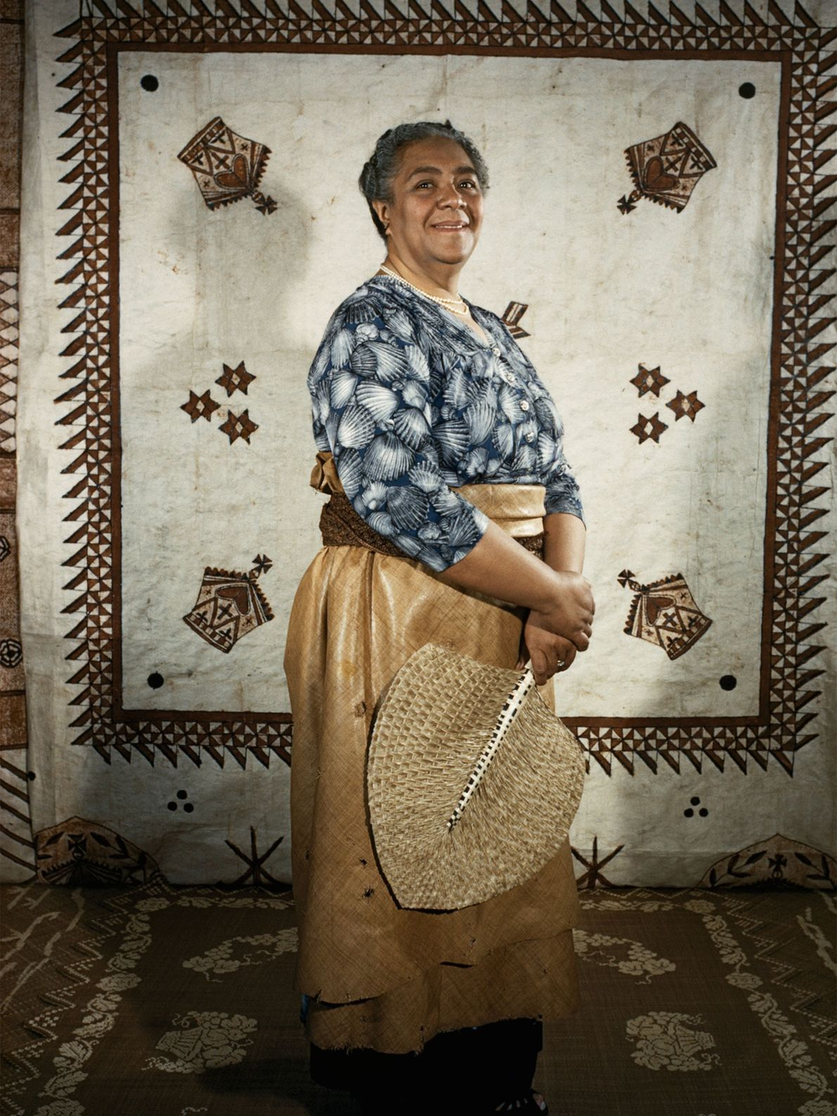 Salote Tupou III, a primeira rainha governante de Tonga e mãe de Tāufaʻāhau Tupou IV, governou ...