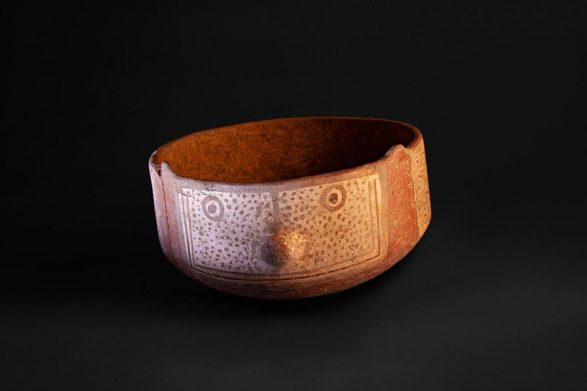 Vaso zoomórfico da segunda fase, ou periodo clássico, da cultura diaguita (900 –1.470 d.C.) encontrado em ...