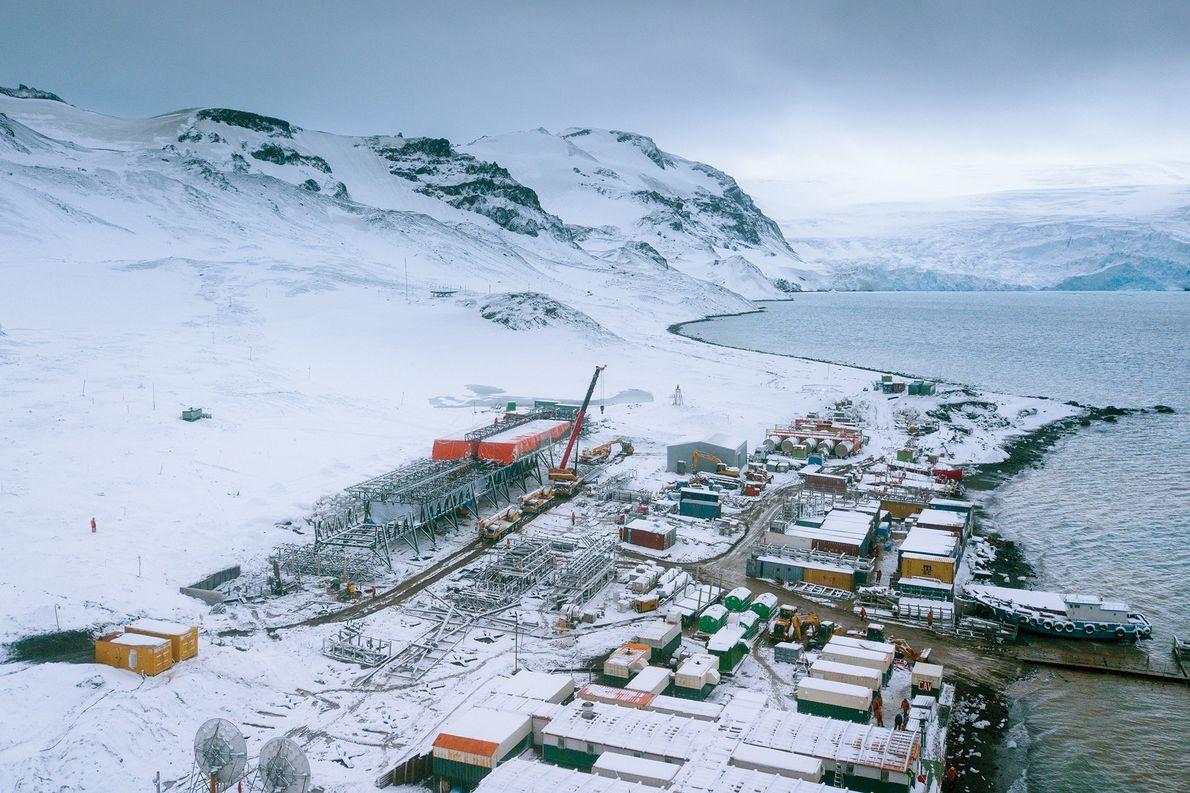 A nova base brasileira na Antártida deve ser inaugurada em 2020.