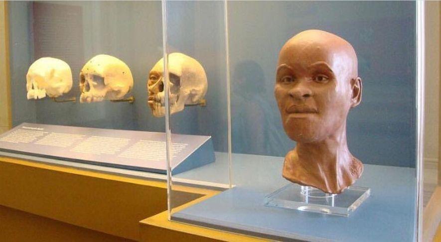 Encontrado na gruta da Lapa Vermelha, em Minas Gerais, o crânio de Luzia é um dos ...