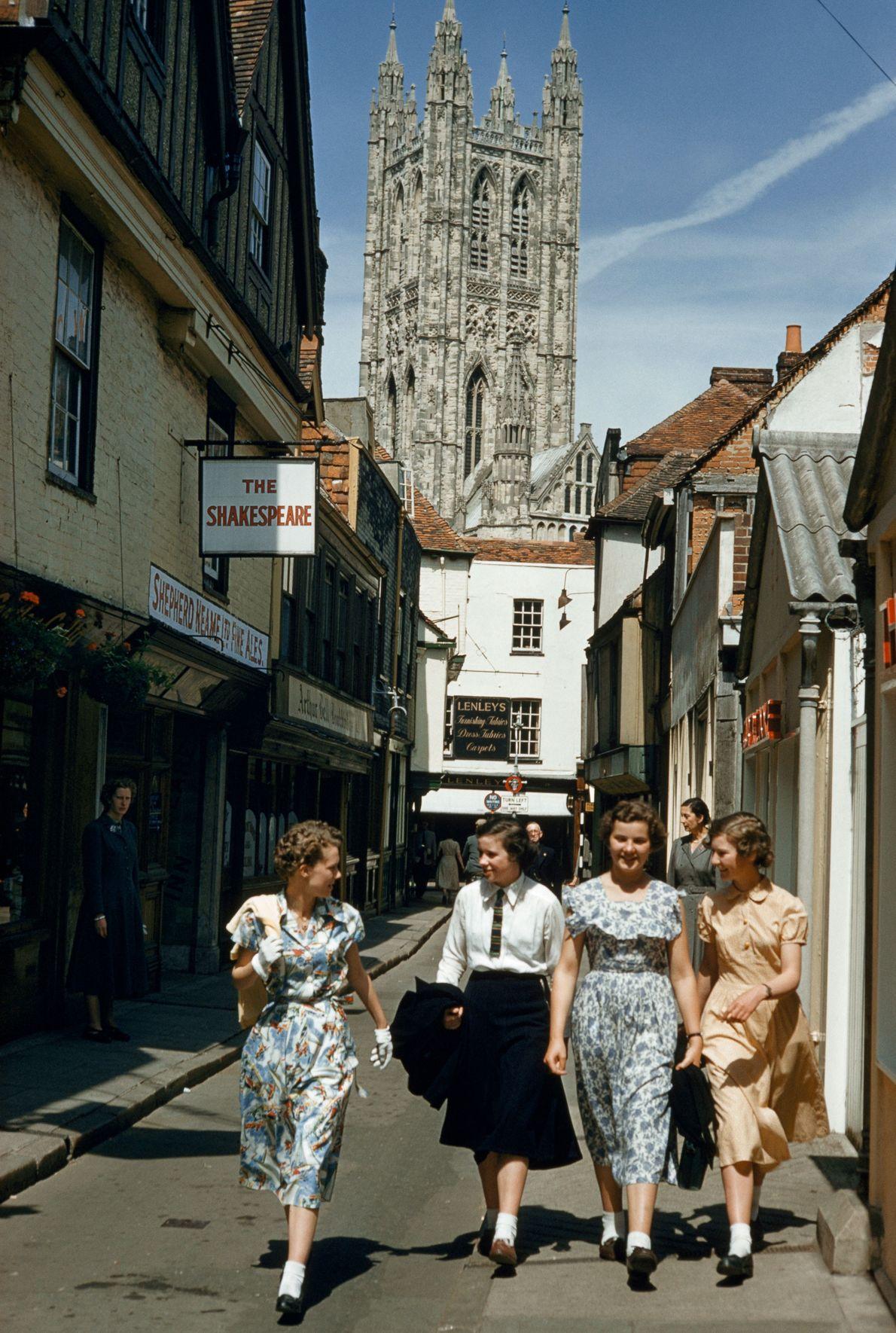 Cantuária, Grã-Bretanha: 1955