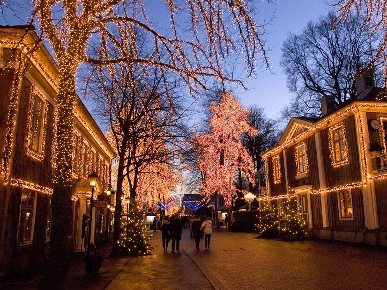 10 decorações iluminadas de Natal pelo mundo