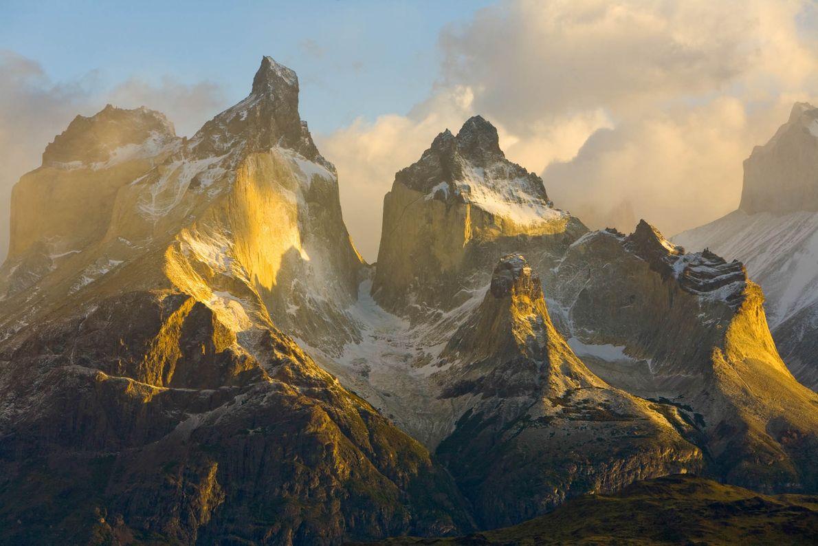 O Chile tem algumas das vistas mais impressionantes do Andes, a cordilheira continental mais comprida do ...