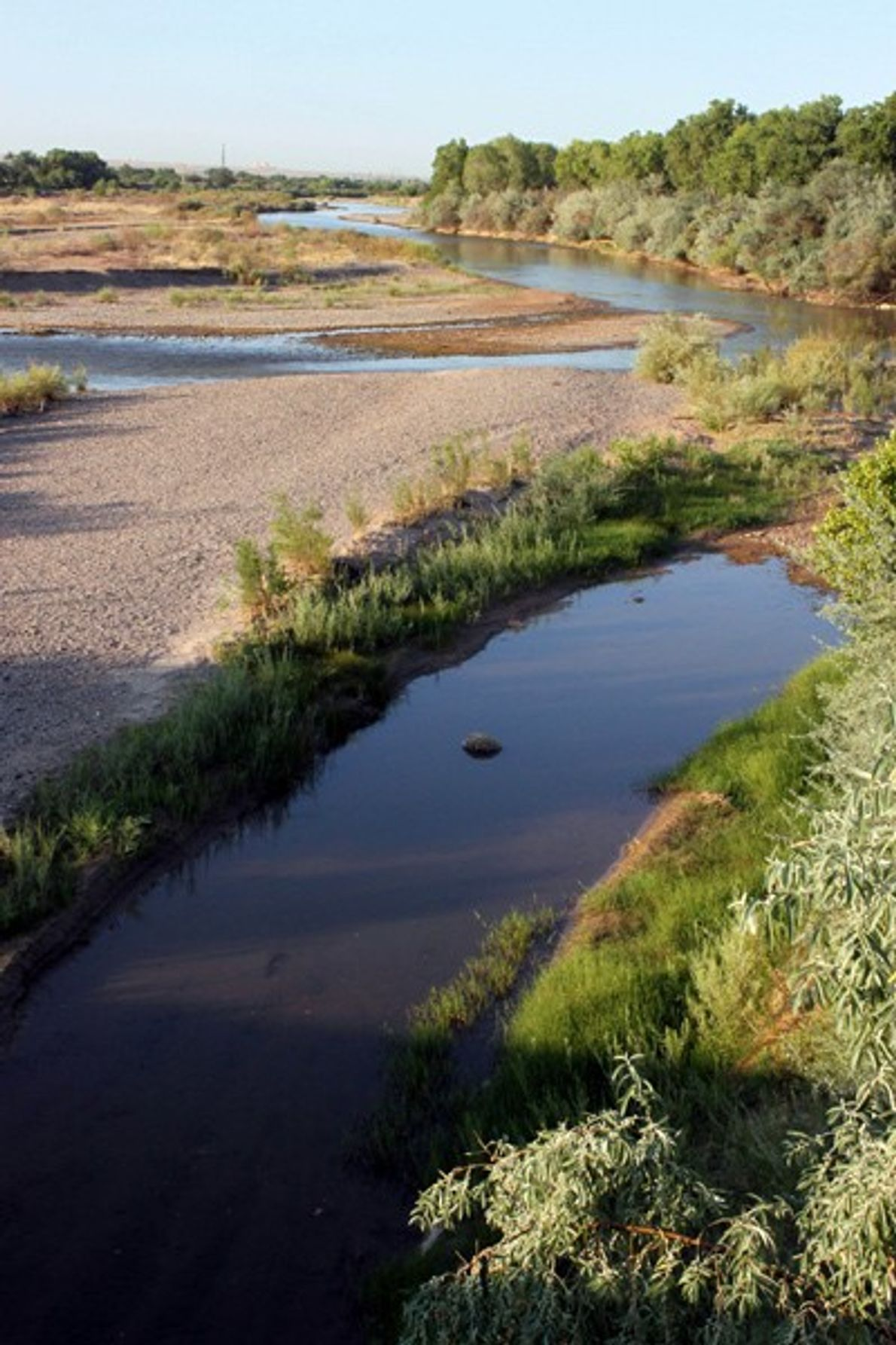 Seca no Rio Grande