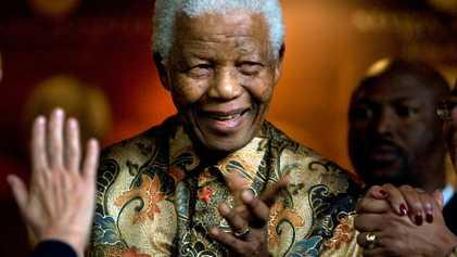 A vida de Nelson Mandela em fotografias