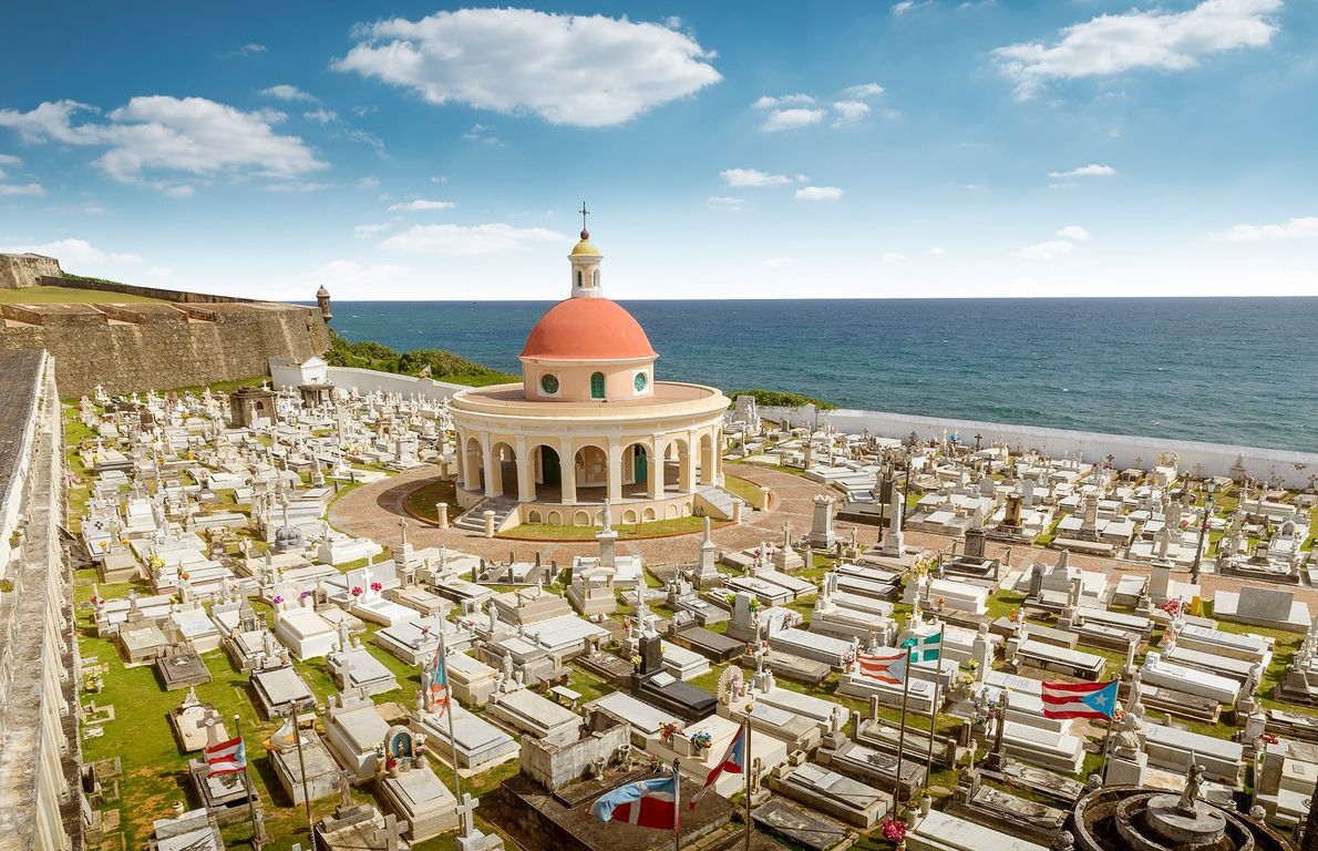 Santa María Magdalena de Pazzis Cemetery, San Juan, Puerto Rico