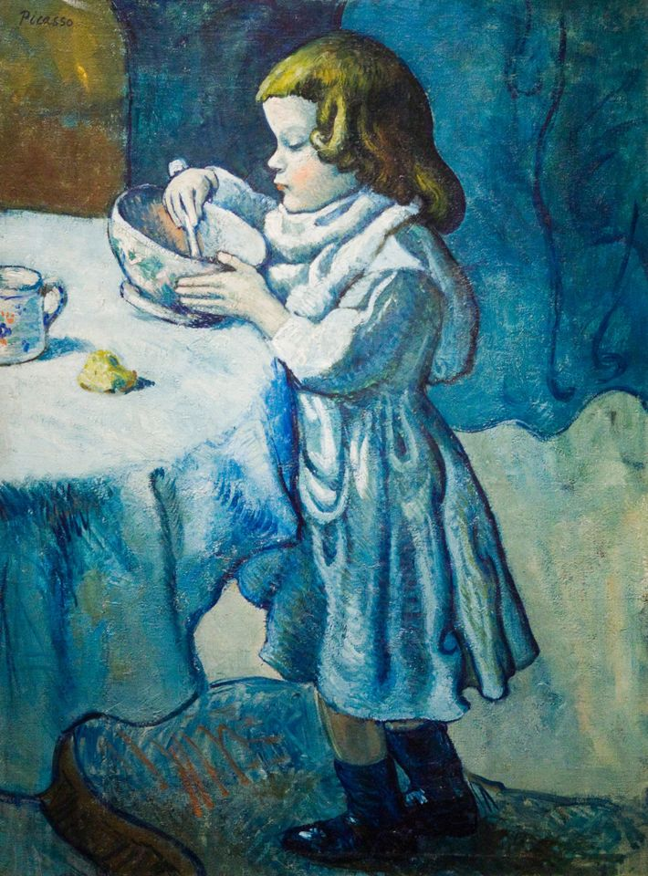 Picasso: ''Le Gourmet.''