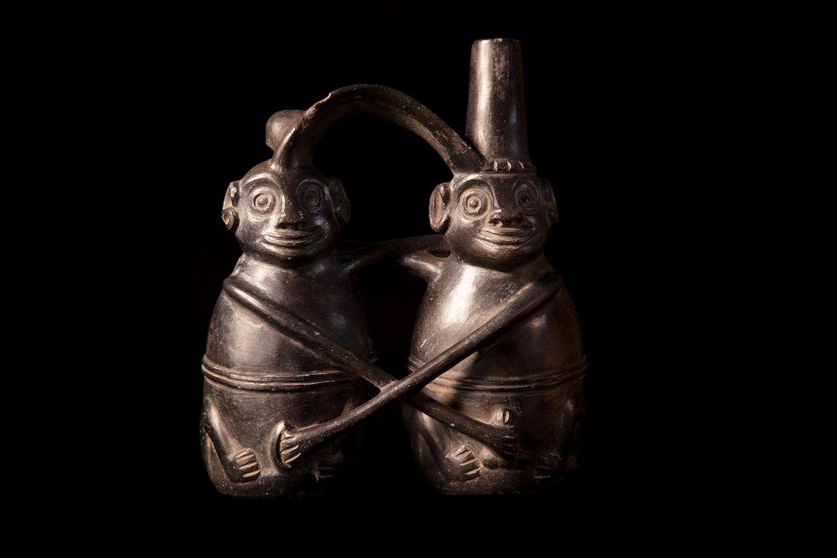 Peças da coleção privada de Esteban Saavedra, fotografadas em Santiago do Chile