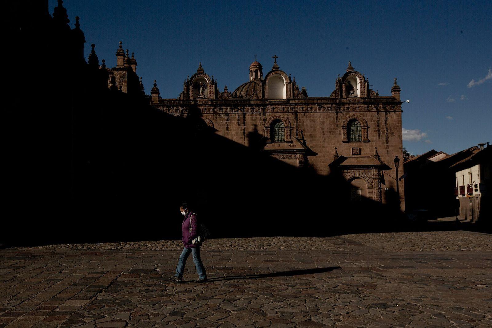 Colapso do turismo durante pandemia causa problemas para Machu Picchu