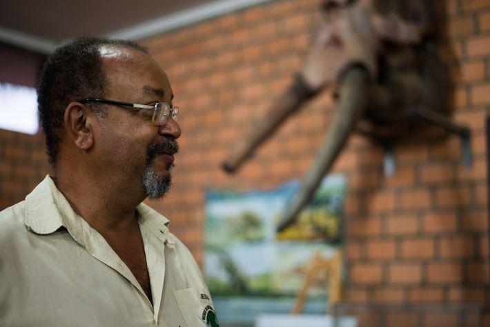Jesus da Silva Paixão é professor de paleontologia e biologia da Universidade do Estado de Mato ...