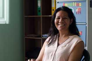 Jane Bordalo, da ONG DPAC-Fronteira, auxilia brasileiros em situação de vulnerabilidade na fronteira, especialmente na prevenção ...