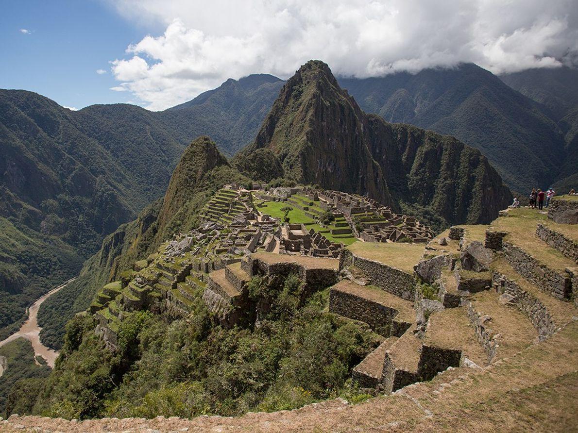 Above the Urubamba