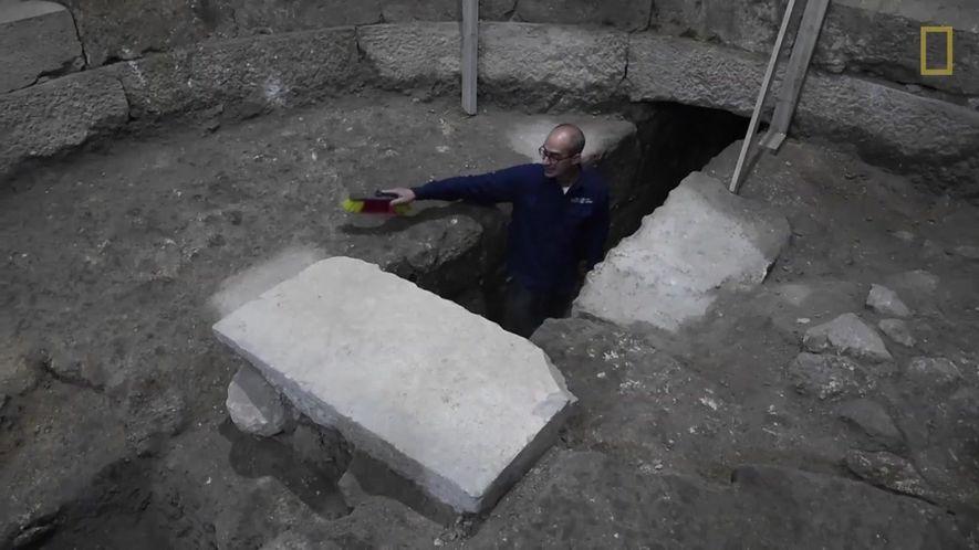 Construção da Era Romana descoberta em Jerusalém