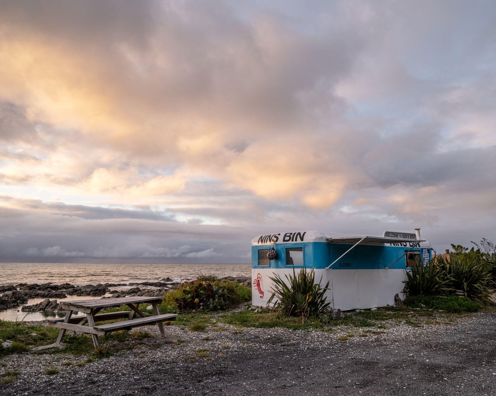 De perto e particular: o litoral selvagem de Kaikōura