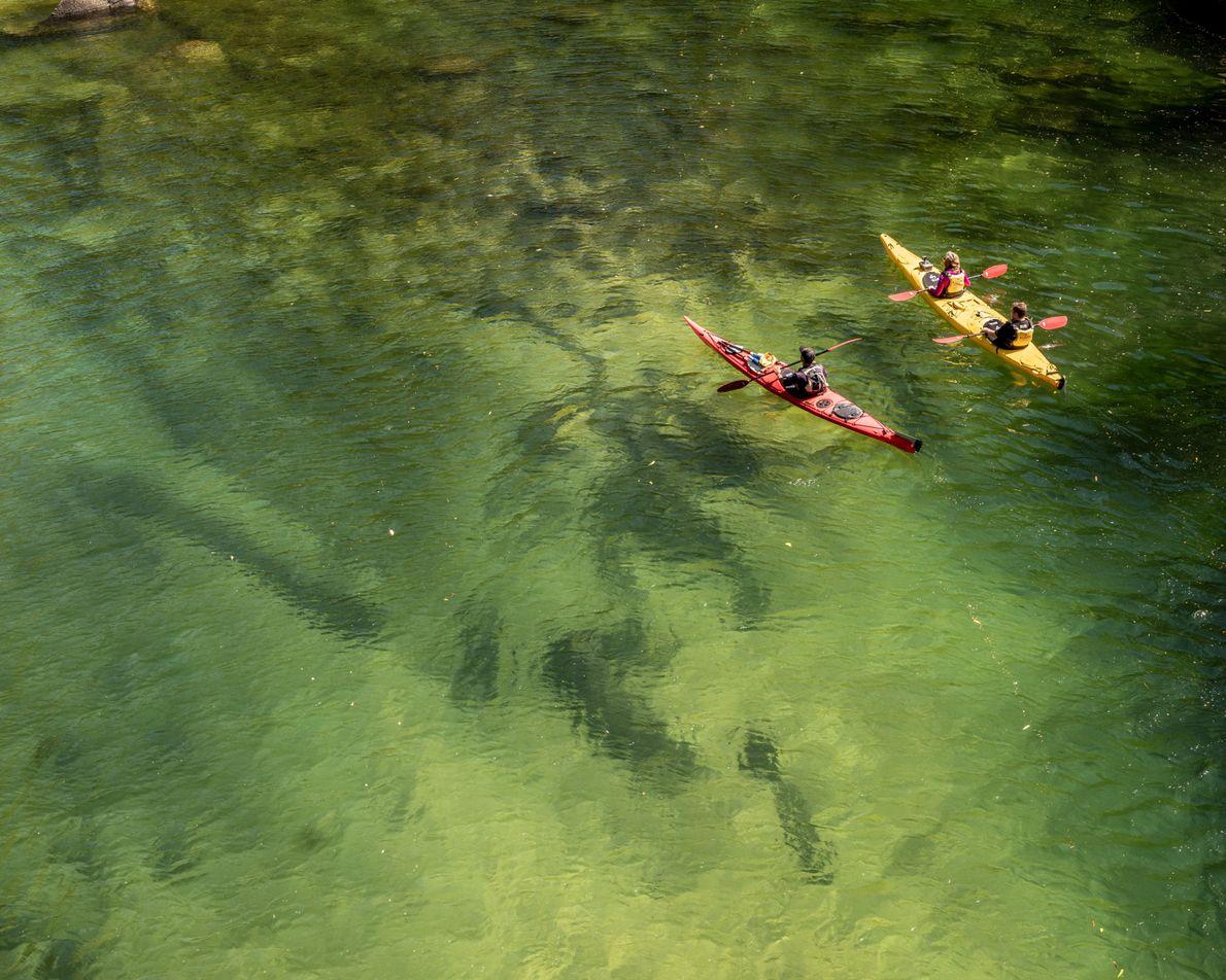 caiaque parque nacional abel tasman